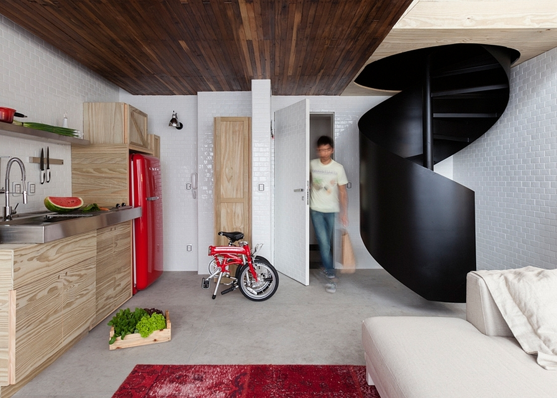 Kitchen in Mini Apartment in S o Paulo Brazil 115344.XL