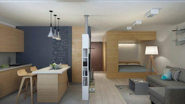 dizajn kvartiry studii ploshchadyu 30 kv m 5