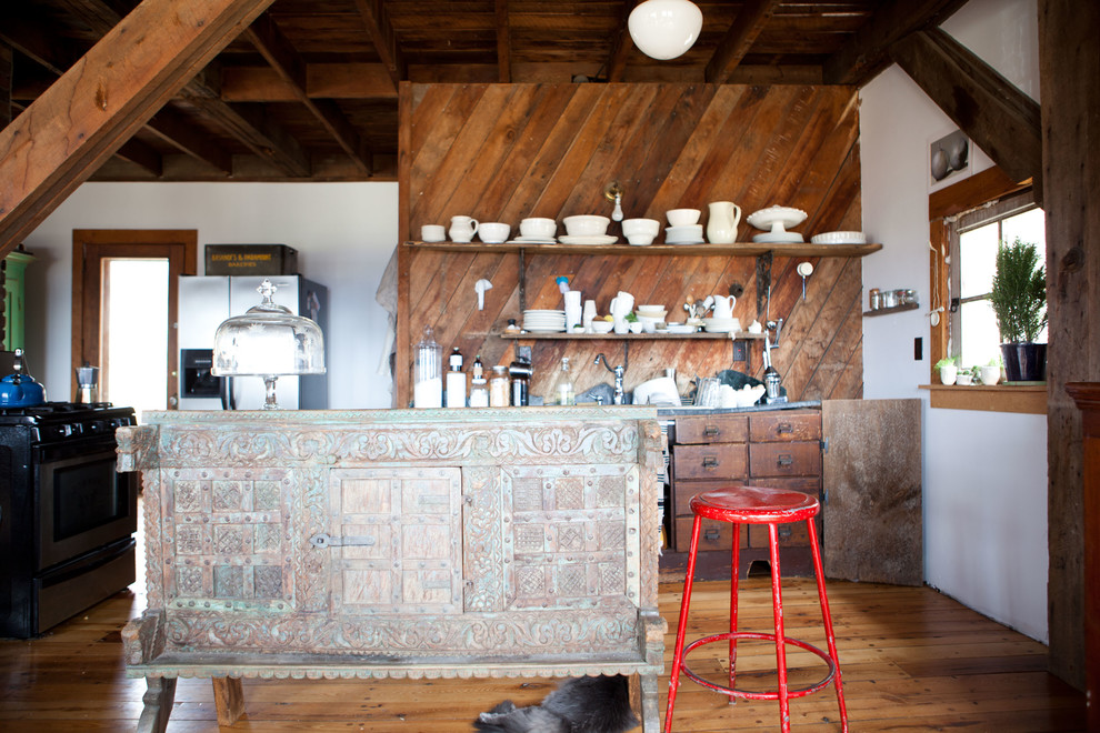 eclectic kitchen 16