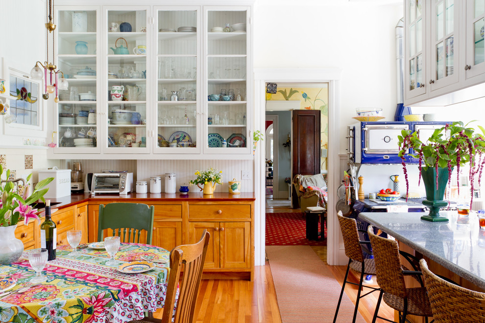 eclectic kitchen 22