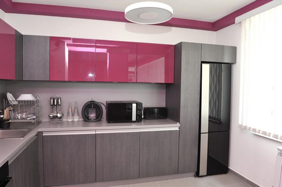 kitchen design in apartment design Petya Gancheva