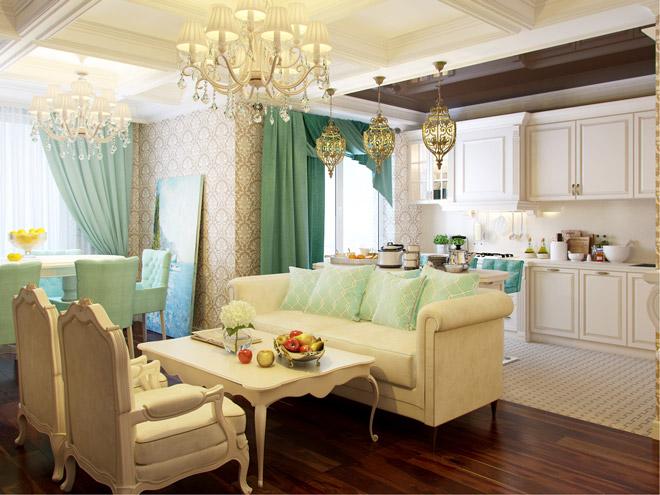 Картинки по запросу Интерьер кухни гостиной фото