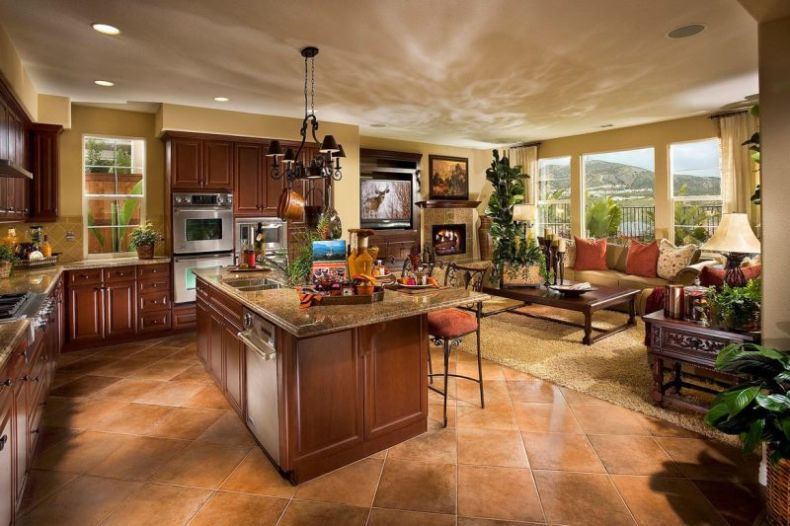 open concept kitchen and living room design ideas kitchen and living room design ideas