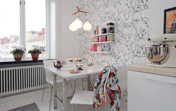 12 kitchen wallpaper color