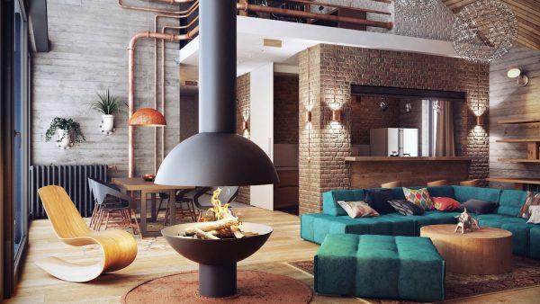 interier v stile loft2