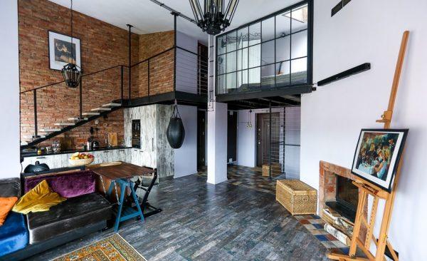 interier v stile loft5