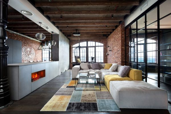 interier v stile loft8