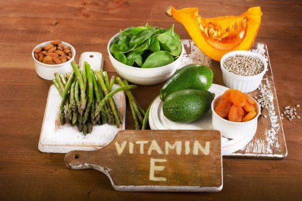 vitamin e v ovoshah