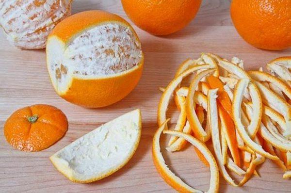 Apelsinovye korki kak udobrenie