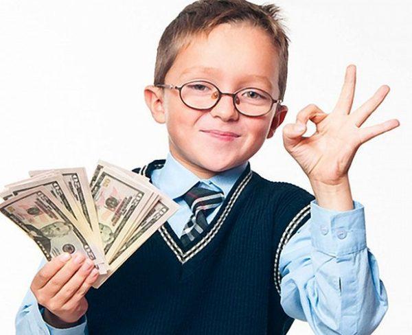 Как в ребенке распознать будущего миллионера и как научить его управлять деньгами