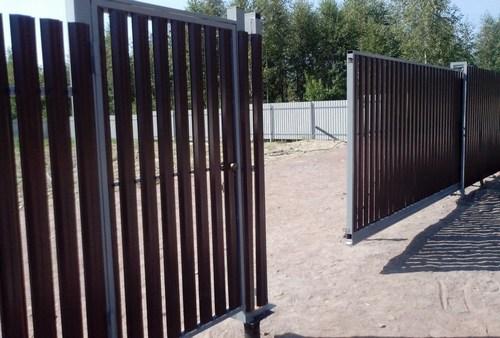 Особенности откатных ворот для дачи