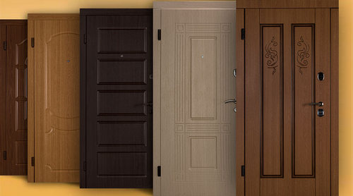 Металлические входные двери: плюсы